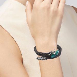 Alexis Bittar brutalist butterfly bracelet NWOT